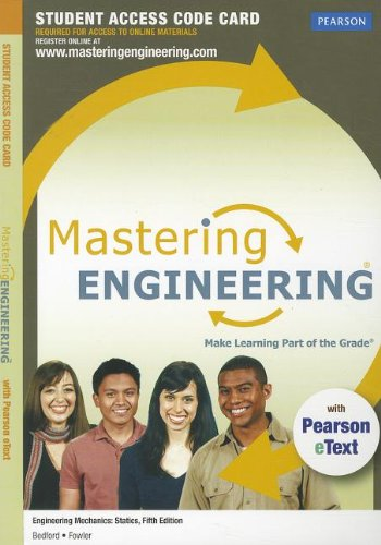 9780132753456: MasteringEngineering with Pearson eText -- Access Card -- for Engineering Mechanics: Statics