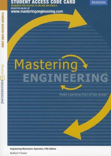9780132753470: MasteringEngineering -- Access Card -- for Engineering Mechanics: Dynamics