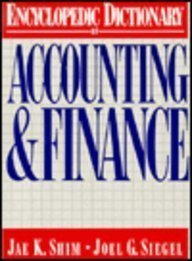 9780132755955: Encyclopedic Dictionary of Accounting and Finance