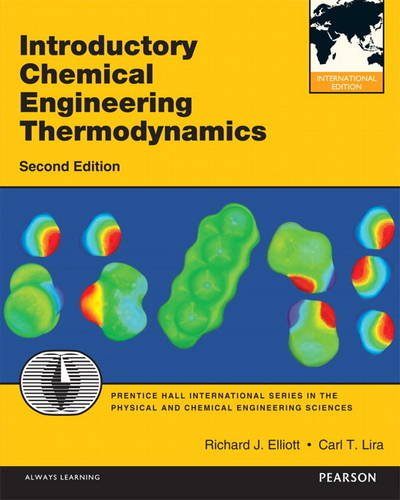9780132756242: Introductory Chemical Engineering Thermodynamics (International Version)