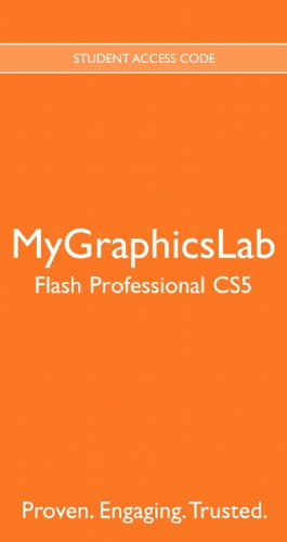 9780132756280: MyGraphicsLab -- Standalone Access Card -- for Adobe Flash Professional CS5