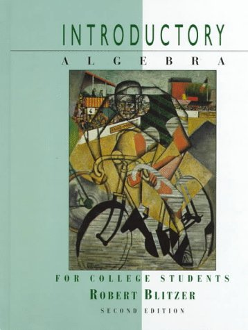9780132757454: Introductory Algebra for College Students (2nd Edition)
