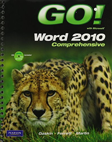 9780132758147: GO! with Microsoft Word 2010, Comprehensive, and myitlab