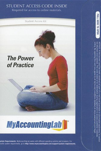 9780132759281: The Power of Practice Student Access Kit (MyAccountingLab (Access Codes))
