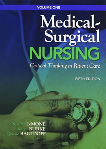 9780132760249: Medical-Surgical Nursing: Critical Thinking in Patient Care, Volume 1 & 2 with MyNursingLab (Access Card) (5th Edition)