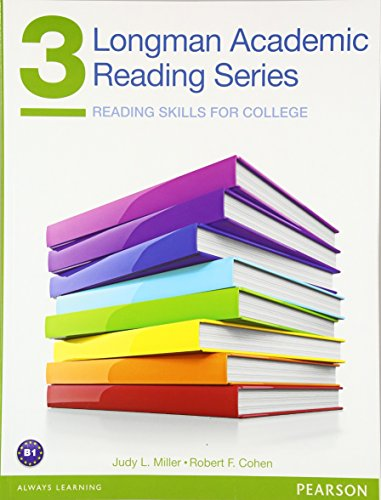 Longman Academic Reading Series 3 Student Book (Longman Academic Writing): Miller, Judy; Cohen, ...