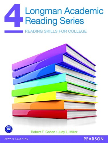 9780132760614: Longman Academic Reading Series 4: Reading Skills for College