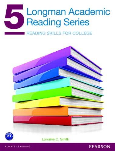 9780132760676: Longman Academic Reading Series 5: Reading Skills for College
