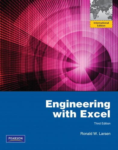 9780132761161: Engineering with Excel