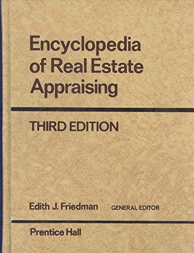 9780132761628: Encyclopedia of Real Estate Appraising