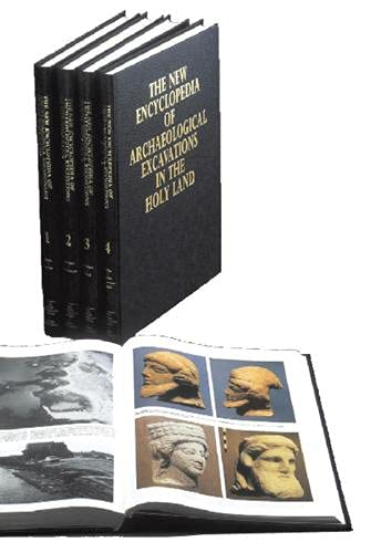 The New Encyclopedia of Archaeological Excavations in the Holy Land - 4 volumes plus Supplementar...