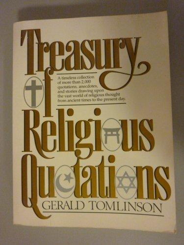 9780132764117: Treasury of Religious Quotations