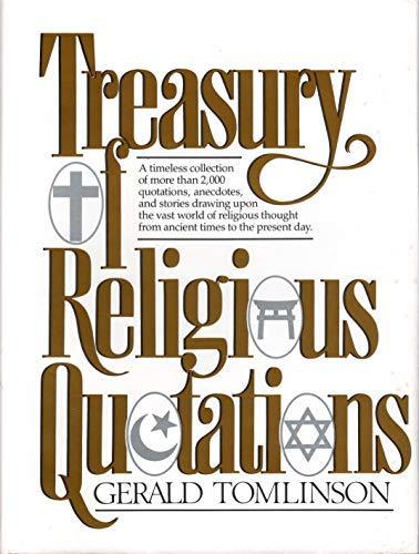 9780132764292: Treasury Religious Quotations