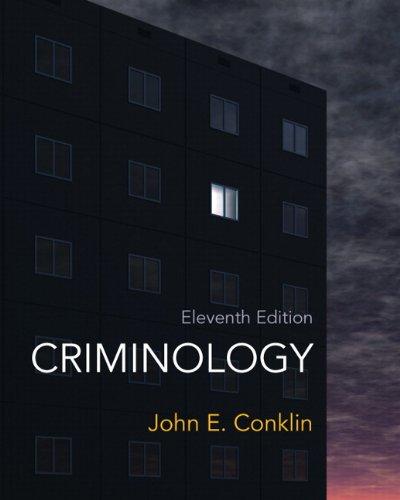 Criminology (11th Edition): CONKLIN