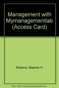 9780132765770: Management with MyManagementLab (Access Card) (11th Edition)