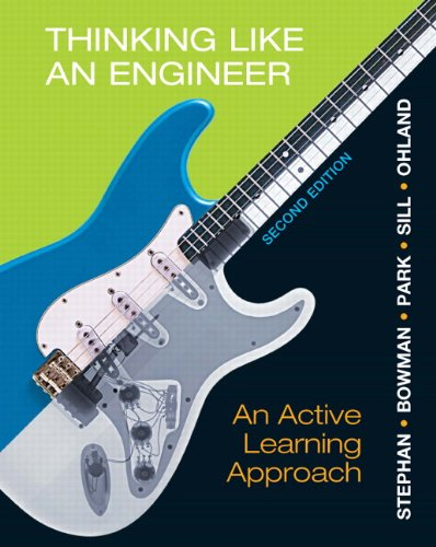 9780132766715: Thinking Like an Engineer: An Active Learning Approach