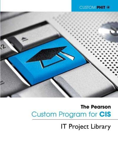 9780132766890: IT Project Library Project #5