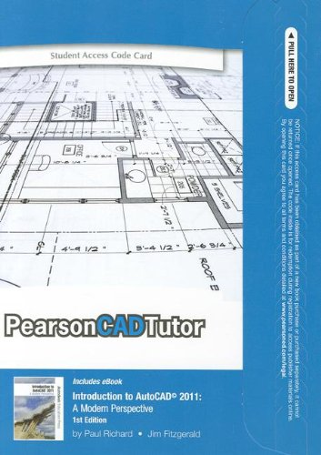 9780132768436: CAD Tutor -- Access Card -- for Introduction to AutoCAD 2011: A Modern Perspective (PearsonCADTutor (Access Codes))