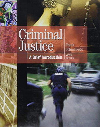 9780132769105: Criminal Justice: A Brief Introduction with MyCrimeKit -- (Valuepack item only) (9th Edition)