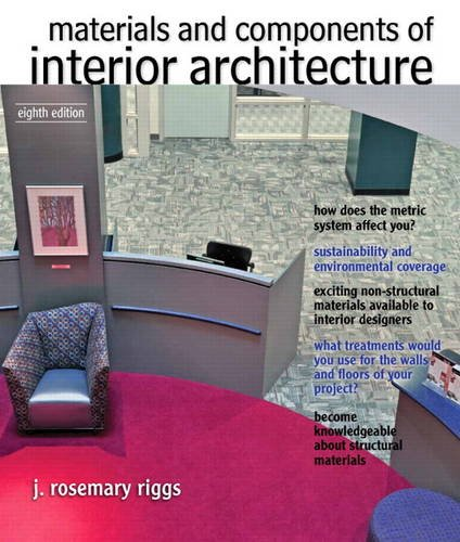 9780132769150: Materials and Components of Interior Architecture (8th Edition) (Fashion Series)