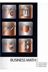 9780132770071: Business Mathematics and MyMathLab/MyStatLab -- Standalone Access Card Package (9th Edition)