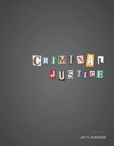 9780132770347: Criminal Justice (5th Edition)