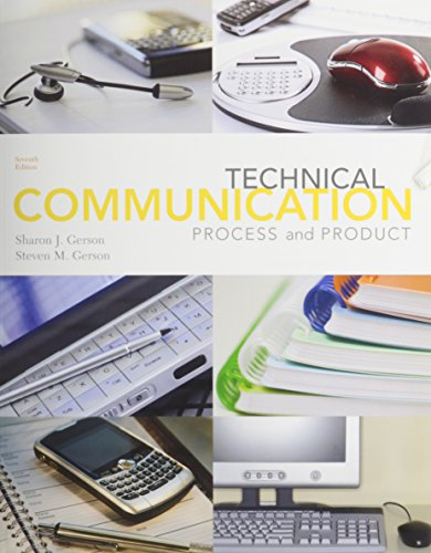9780132771382: Technical Communication: Process and Product Plus MyTechCommLab Student Access Card (7th Edition)
