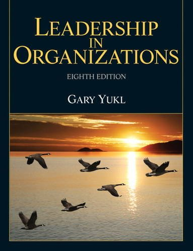 9780132771863: Leadership in Organizations (8th Edition)