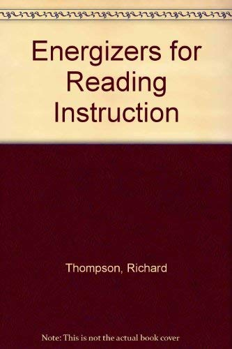 9780132772518: Energizers for Reading Instruction