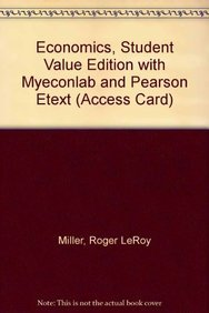 9780132772747: Economics, Student Value Edition with MyEconLab and Pearson eText (Access Card) (16th Edition)