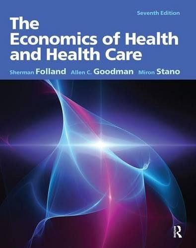 The Economics of Health and Health Care 9780132773690 For courses in Health Economics, U.S. Health Policy/Systems, or Public Health, taken by health services students or practitioners, the text makes economic concepts the backbone of its health care coverage. Folland, Goodman and Stano's book is the bestselling Health Care Economics text that teaches through core economic themes, rather than concepts unique to the health care economy. This edition contains revised and updated data tables, where applicable. The advent of the Patient Protection and Affordable Care Act (PPACA) in 2010 has also led to changes in many chapters , most notably in the organization and focus of Chapter 16.