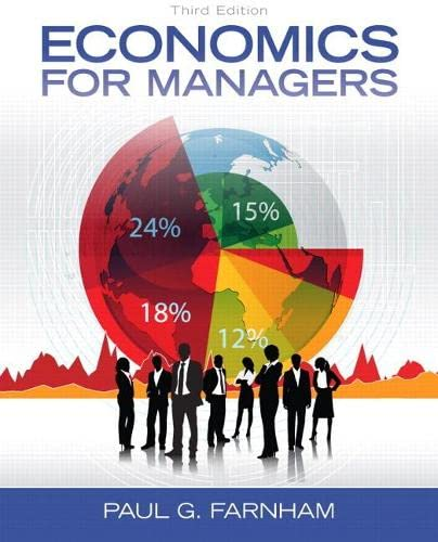 Economics for Managers (3rd Edition): Farnham, Paul G.