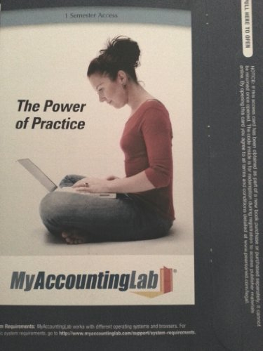9780132773959: MyAccountingLab with Pearson eText -- Access Card -- for College Accounting