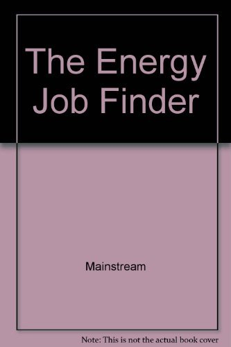 9780132775823: The Energy Job Finder