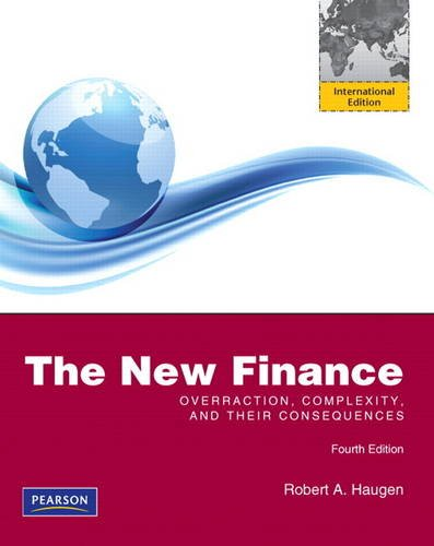 9780132775878: The New Finance: Overeaction, Complexity and Their Consequences