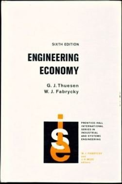 9780132777230: Engineering Economy (Prentice-Hall international series in industrial and systems engineering)