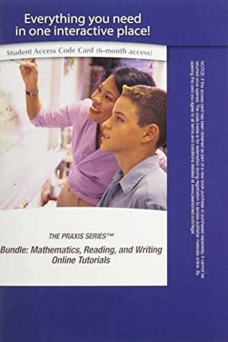 9780132778466: PPST Bundle: Mathematics, Reading, and Writing Online Tutorials -- Access Card (The Praxis)