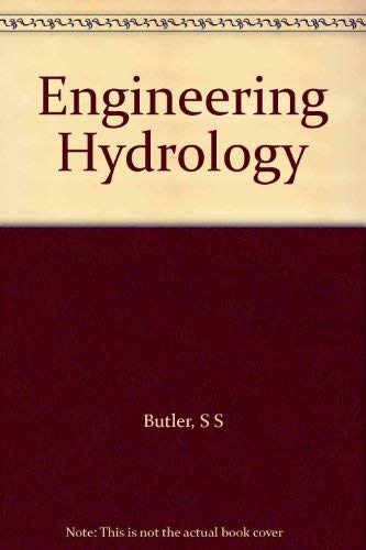 Engineering Hydrology.: Butler, Stanley