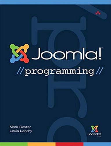 9780132780810: Joomla! Programming