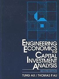 9780132781930: Engineering Economics for Capital Investment Analysis