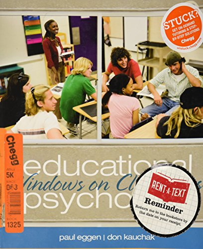 9780132782739: Educational Psychology Windows on Classrooms (Instructor's Review Copy)