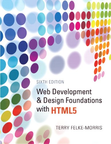 9780132783392: Web Development and Design Foundations with HTML5 (6th Edition)