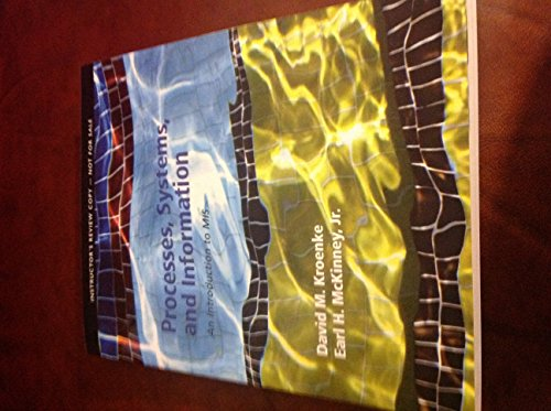9780132783507: Processes, systems, and Information
