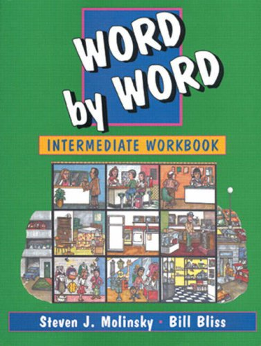 9780132784580: Word by Word Picture Dictionary Intermediate Workbook