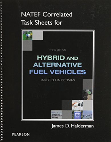 9780132785389: NATEF Correlated Job Sheets for Hybrid and Alternative Fuel Vehicles