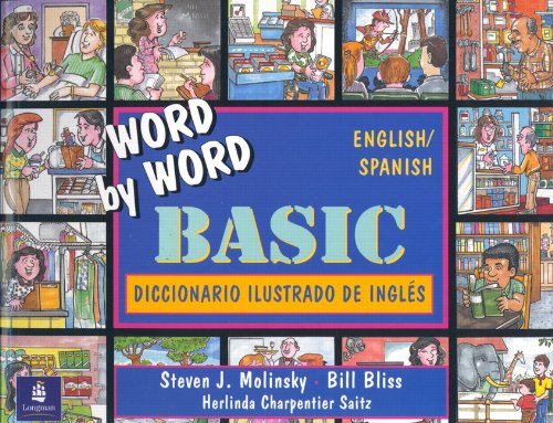9780132785730: Basic English/Spanish Bilingual Edition, Word by Word Basic Picture Dictionary
