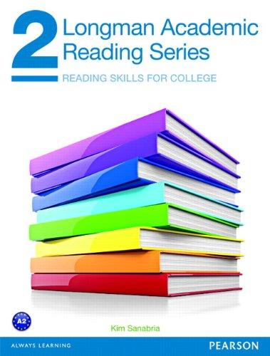 9780132785822: Longman Academic Reading Series 2 Student Book: Student Book