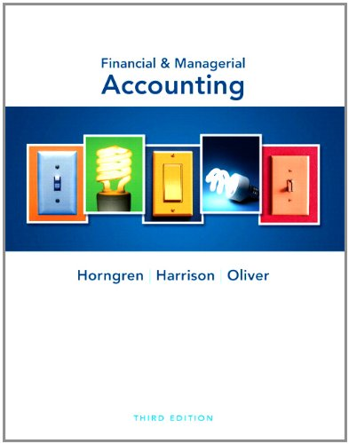 9780132785853: Financial & Managerial Accounting and MyAccountingLab with Pearson eText Student Access Code Card Package (3rd Edition)