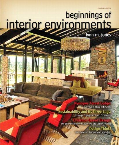 9780132786003: Beginnings of Interior Environments (11th Edition) (Fashion Series)