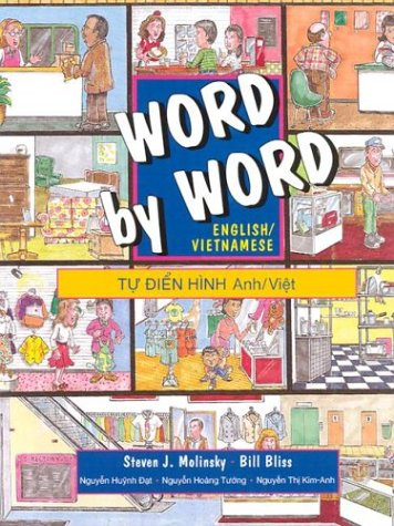9780132786072: Word by Word Picture Dictionary: English/Vietnamese Edition